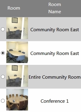 Select the room